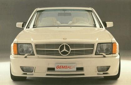 1984 Mercedes-Benz 500SEC Widebody ( C126 ) by Gemballa 3