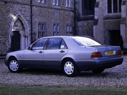 1991 Mercedes-Benz 600SEL ( W140 ) - UK version 3