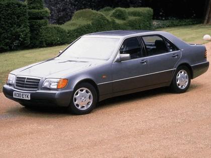 1991 Mercedes-Benz 600SEL ( W140 ) - UK version 4
