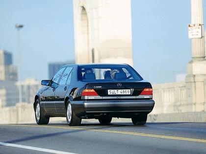 1993 Mercedes-Benz S600 ( W140 ) 4