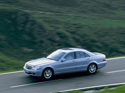 2002 Mercedes-Benz S500 ( W220 ) 4Matic 14