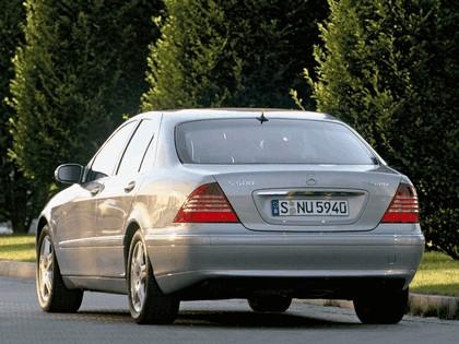 2002 Mercedes-Benz S500 ( W220 ) 4Matic 17