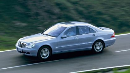 2002 Mercedes-Benz S500 ( W220 ) 4Matic 6