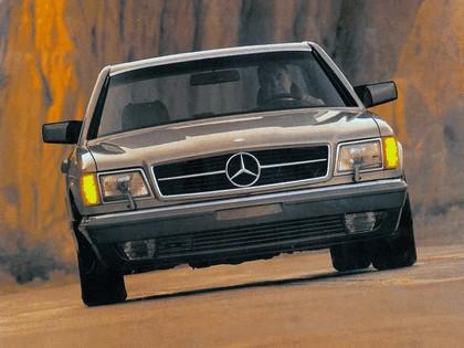 1985 Mercedes-Benz 560SEC ( C126 ) - USA version 2