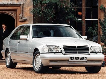 1991 Mercedes-Benz S-Klasse ( W140 ) - UK version 2