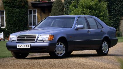 1991 Mercedes-Benz S-Klasse ( W140 ) - UK version 7