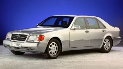1992 Mercedes-Benz S500 ( W140 ) Guard 8