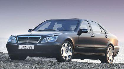 2002 Mercedes-Benz S600 ( W220 ) - UK version 9