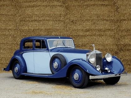 1934 Rolls-Royce Phantom Continental Sports Saloon II 1