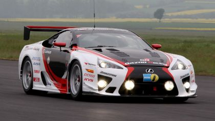 2010 Lexus LF-A by Gazoo Racing - racing car 5