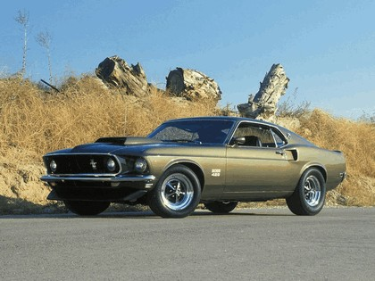 1969 Ford Mustang Boss 429 8