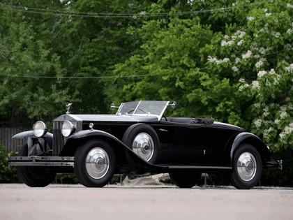 1932 Rolls-Royce Phantom Henley Brewster Roadster II 1