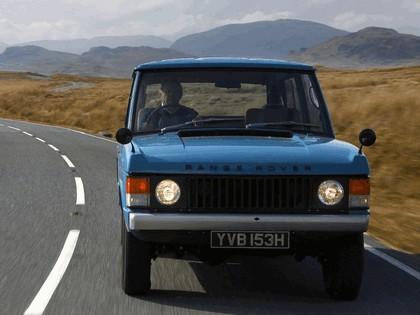 1970 Land Rover Range Rover 3-door 7