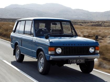 1970 Land Rover Range Rover 3-door 8