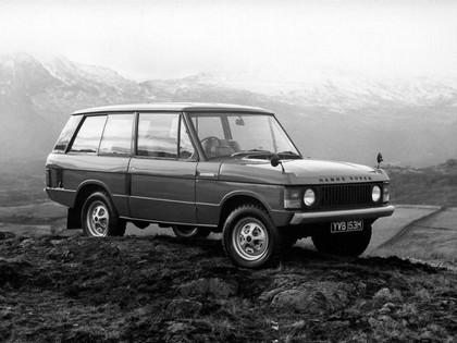 1970 Land Rover Range Rover 3-door 16