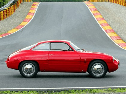 1960 Alfa Romeo Giulietta SZ Zagato 5