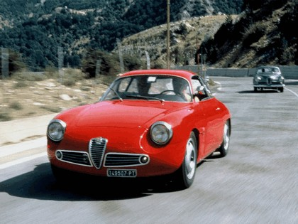 1960 Alfa Romeo Giulietta SZ Zagato 7