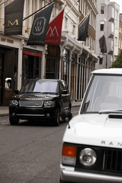 2010 Land Rover Range Rover Autobiography Black 40th anniversary LE 9