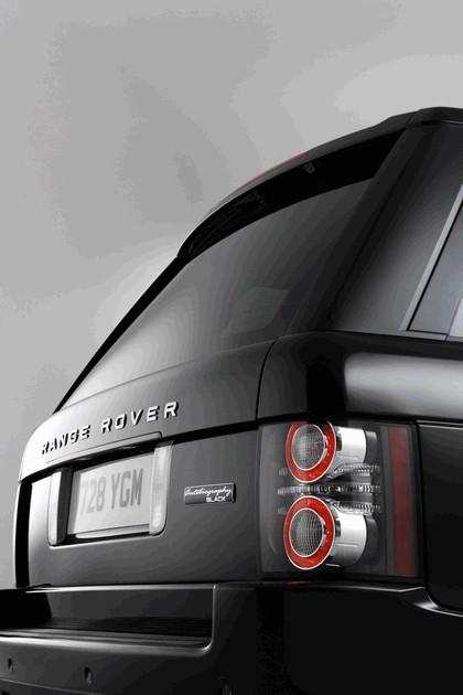 2010 Land Rover Range Rover Autobiography Black 40th anniversary LE 21
