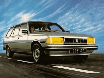 1983 Peugeot 305 Break GT 1