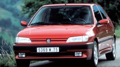 1993 Peugeot 306 3-door 6
