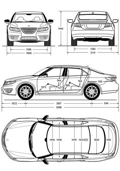 2010 Saab 9-5 sedan 98