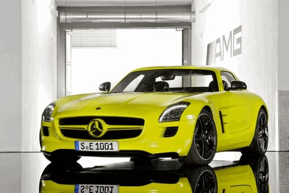 2010 Mercedes-Benz SLS AMG E-Cell 1