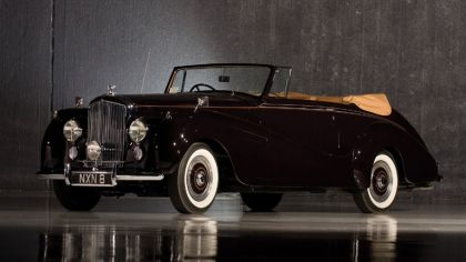 1953 Rolls-Royce R-Type Drophead coupé Park Ward 9