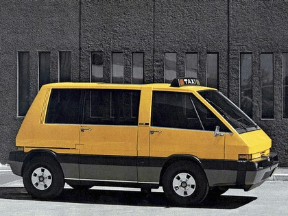 1976 Alfa Romeo New York Taxi concept by ItalDesign 2