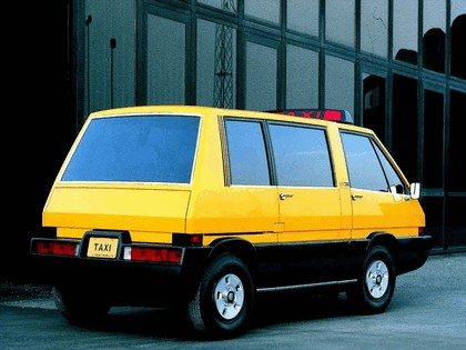 1976 Alfa Romeo New York Taxi concept by ItalDesign 6