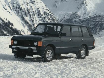 1986 Land Rover Range Rover 5-door 6