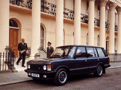 1986 Land Rover Range Rover 5-door 8