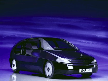 1991 Mercedes-Benz F100 concept 1