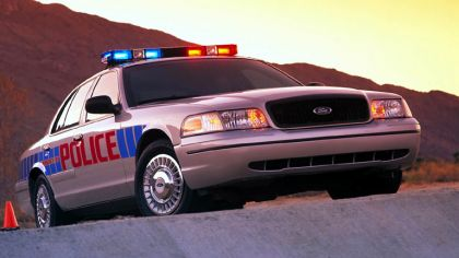 1998 Ford Crown Victoria Police Interceptor 1