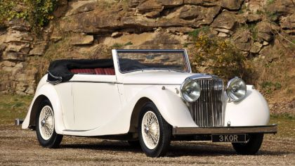 1945 Jaguar Mark IV Drophead coupé 2