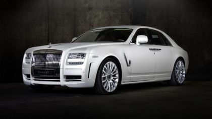 2010 Mansory White Ghost Edition ( based on Rolls-Royce Ghost ) 1