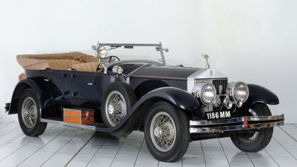 1923 Rolls-Royce Silver Ghost 40-50 Torpedo Tourer by Holbrook 5