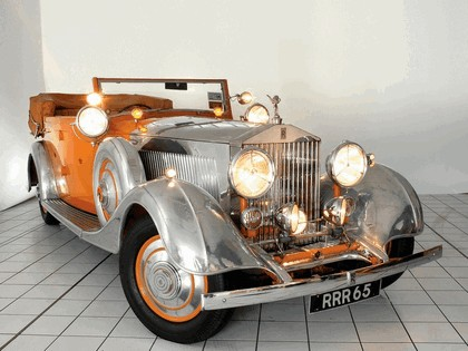 1934 Rolls-Royce Phantom 40-50 cabriolet - Star Of India II 7