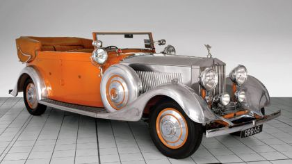1934 Rolls-Royce Phantom 40-50 cabriolet - Star Of India II 1