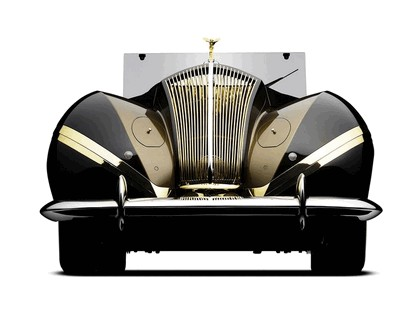 1939 Rolls-Royce Phantom III Labourdette Vutotal cabriolet 1