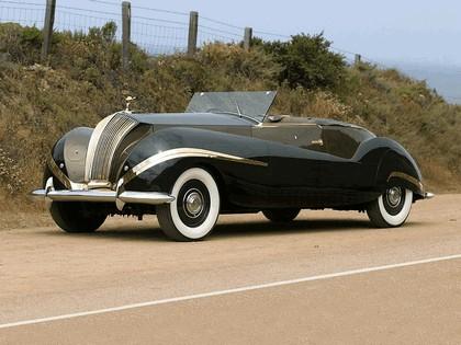 1939 Rolls-Royce Phantom III Labourdette Vutotal cabriolet 4