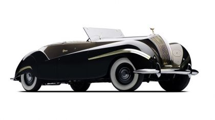 1939 Rolls-Royce Phantom III Labourdette Vutotal cabriolet 2