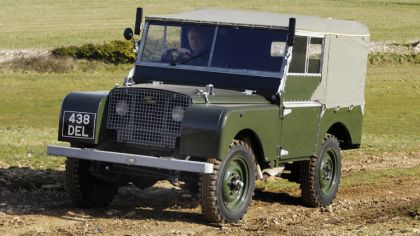 1948 Land Rover Series I 80 Soft Top 4