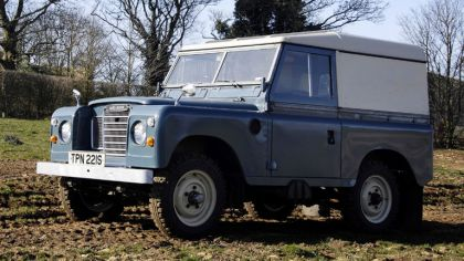 1971 Land Rover Series III SWB Van 2