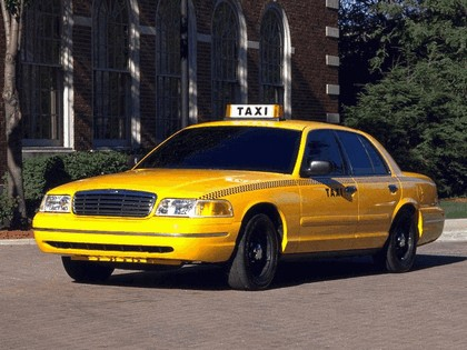 1998 Ford Crown Victoria Taxi 1