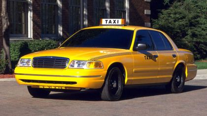 1998 Ford Crown Victoria Taxi 5