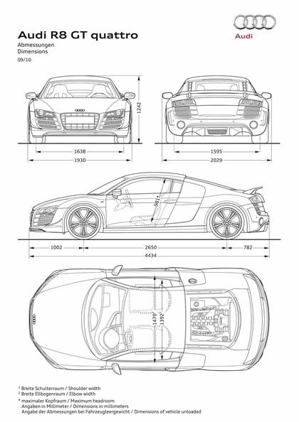 2010 Audi R8 GT 32