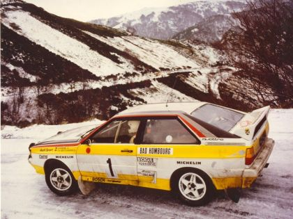 1981 Audi Quattro A2 33