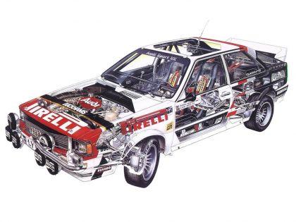 1981 Audi Quattro A2 34