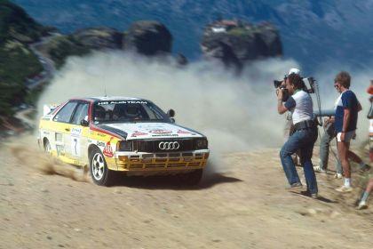 1984 Audi Sport Quattro Group B rally car 1